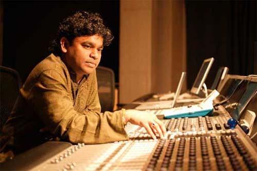 A R Rahman Studio Photo
