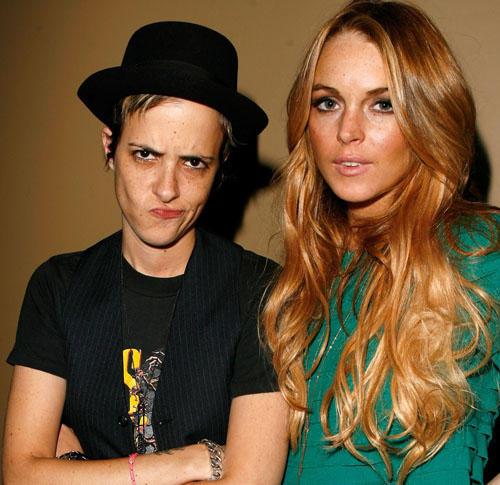 Lindsay Lohan and Samantha Latest Still