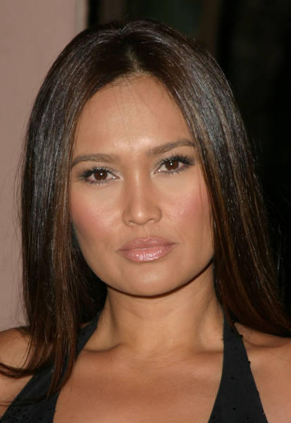 Tia Carrere Black Hair Simple Pics