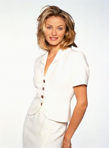 Cameron Diaz Hot Picture In White Dress