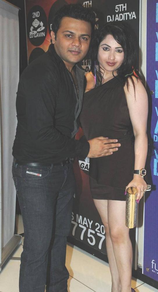 Gaurav And Misti Looking NicePic