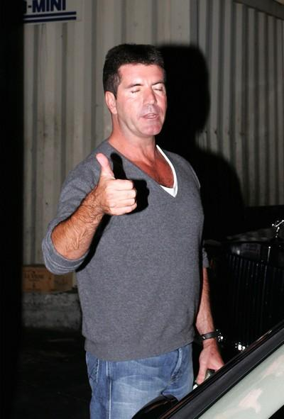 American Idol Judge Simon Cowell Photo