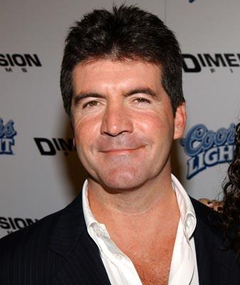 Simon Cowell Dazzling Face Look Stills