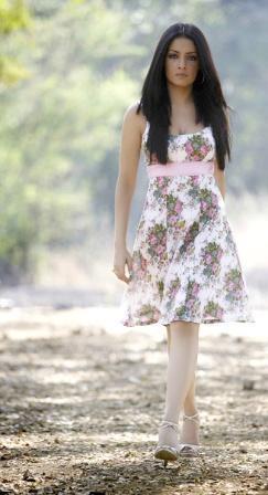 Celina Jaitley Cute Dress Stunning Pic