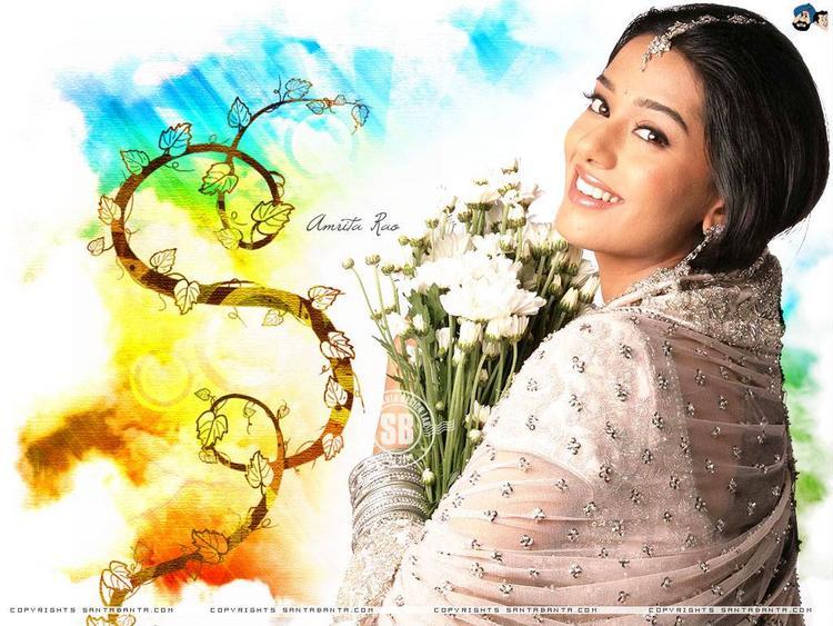 Amrita Rao Smiling Photo