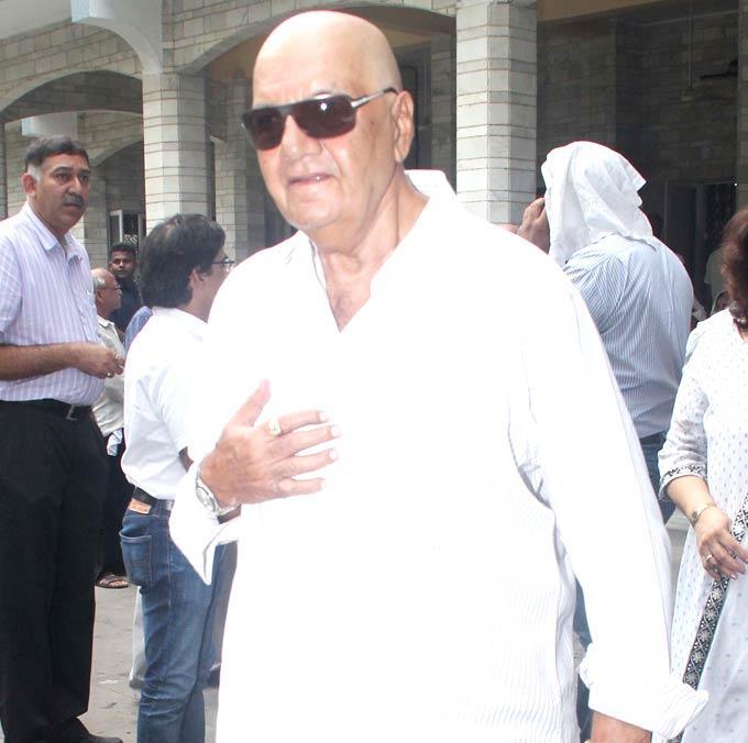 Prem Chopra at Raju Hirani's Father Prayer Meet