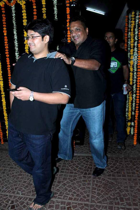 Guests at Ekta Kapoor's Birthday Bash