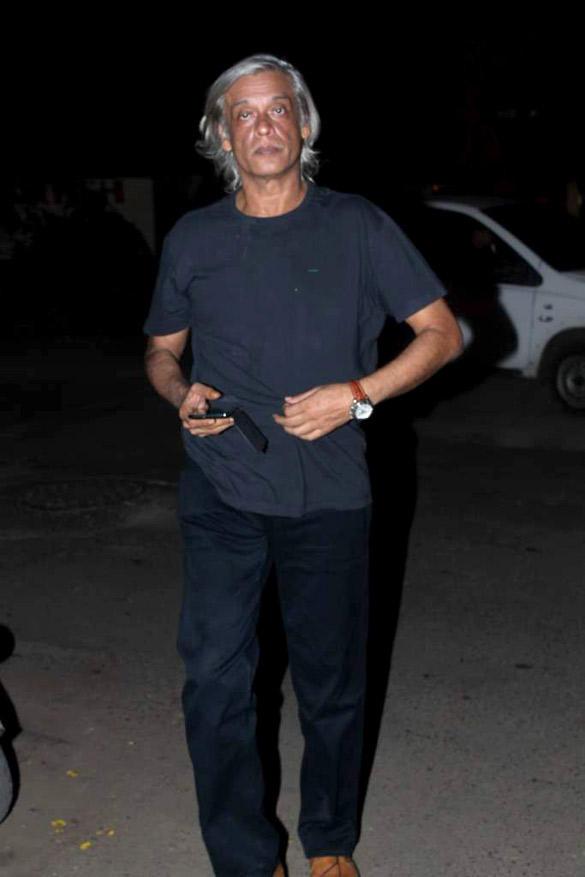 Sudhir Mishra Spotted at Ekta Kapoor's Birthday Bash