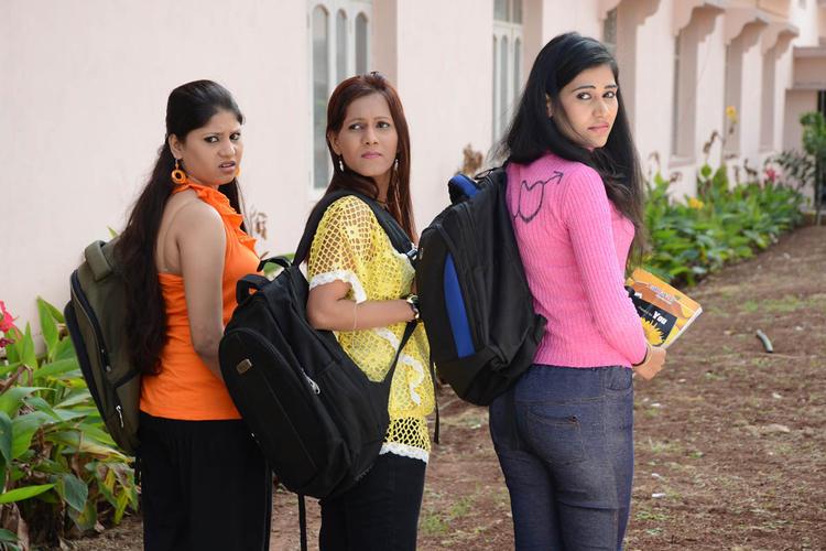 Seema,Tamakshi And Jiya Back Look Photo From Movie Love Idiots