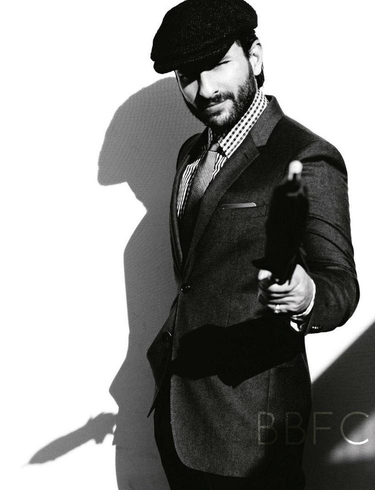 Saif Ali Khan Stylish Look Shoot For GQ India January 2013