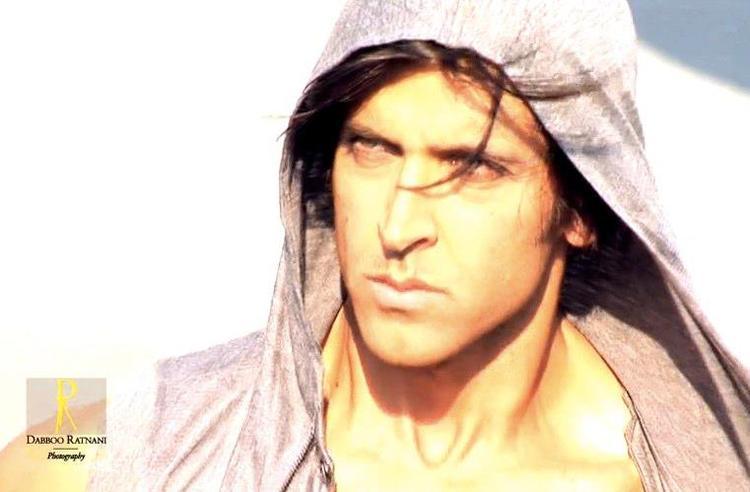 Hrithik Roshan Stunning Face Look Photo Shoot For Dabboo Ratnani 2013 Calendar