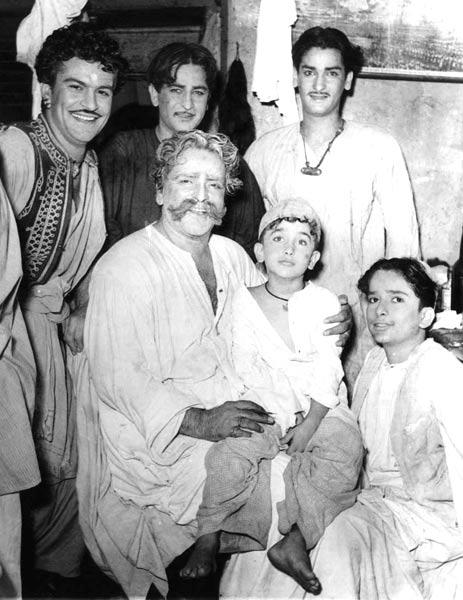 Raj,Shammi And Shashi A Rare Photo Still
