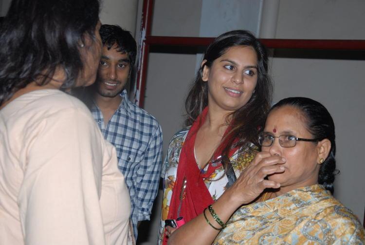 Upasana Kamineni With Friends Photo Clicked At Nayak Movie Premier Show