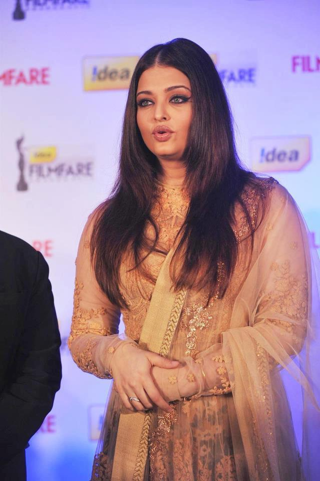 Aishwarya Nice Look At 58th Idea Filmfare Awards Press Conference
