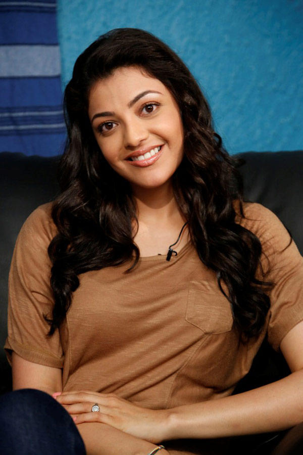 Kajal Agarwal Charming Look Photo Still In Flowing Hair