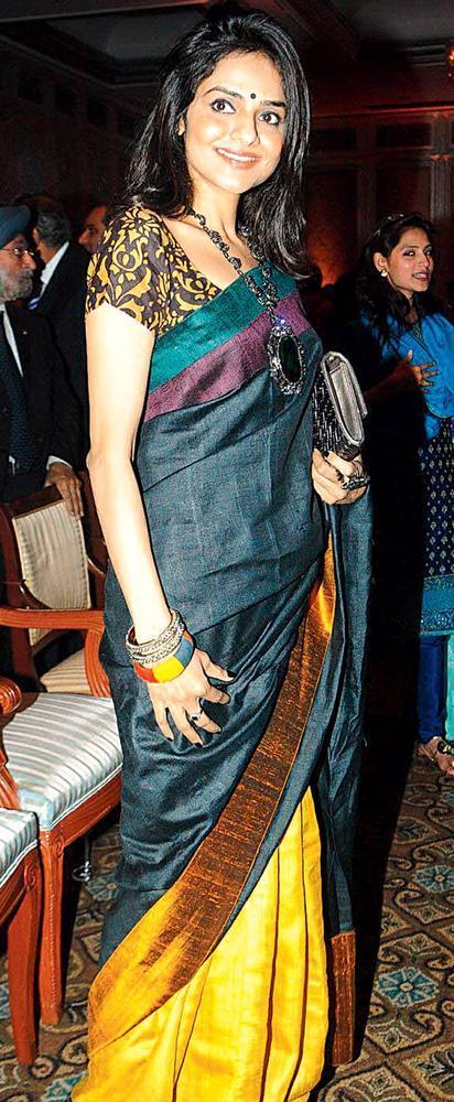 Madhoo Shah Walks In An Event
