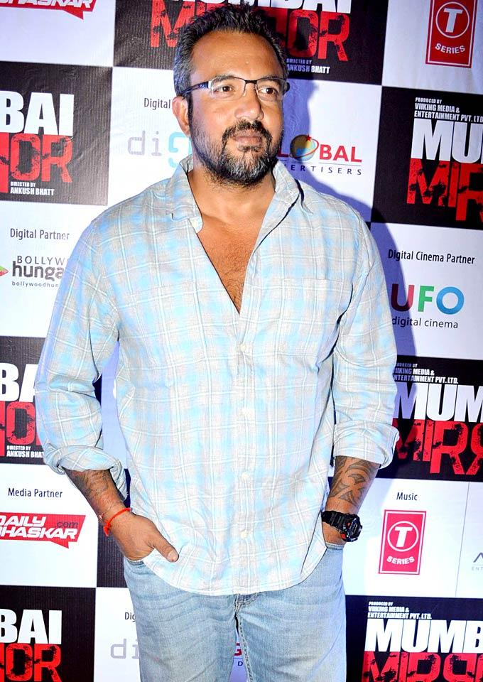 Apoorva Lakhia Make An Appearance At Mumbai Mirror Screening