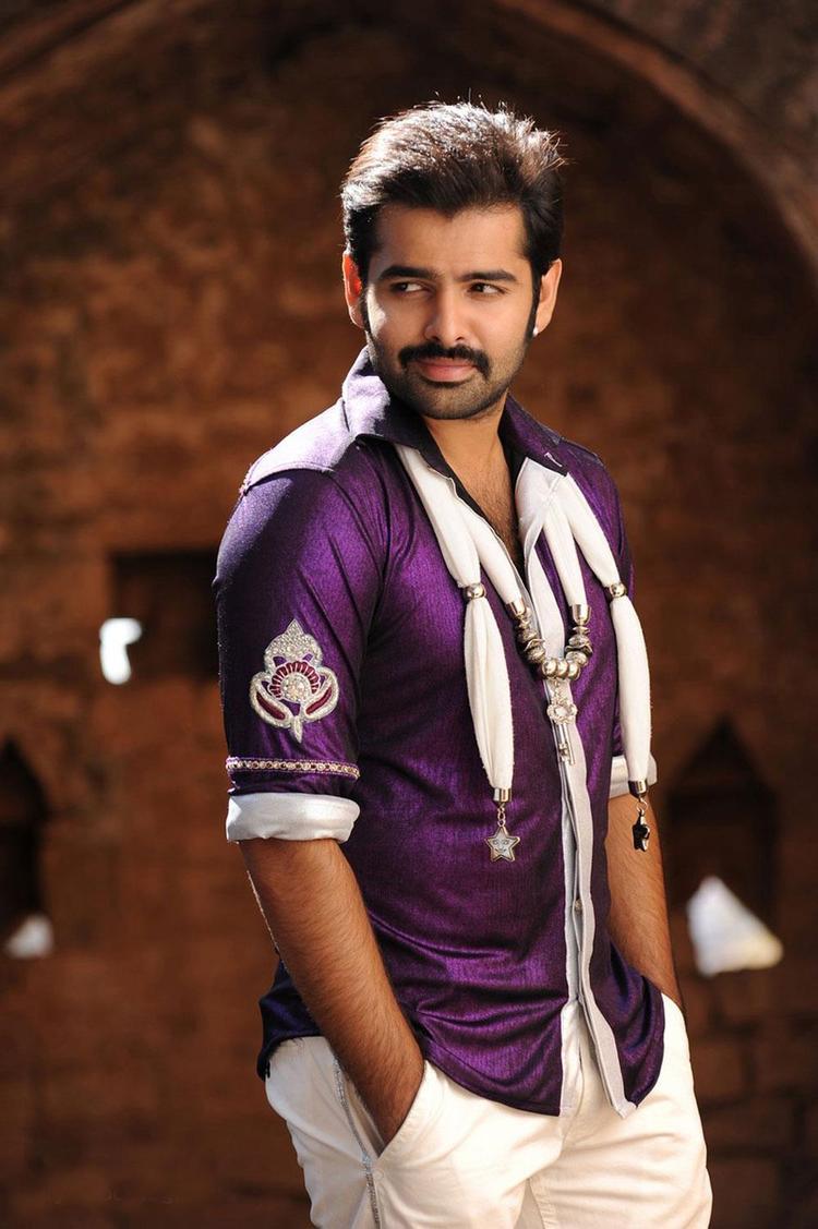 Ram Pothineni Dashing Look Photo From Telugu Movie Ongole Githa