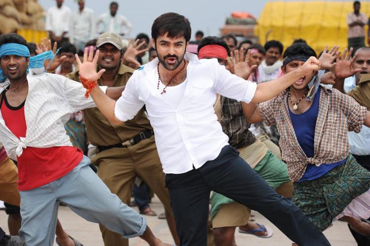 Ram Pothineni Rocking Dance Photo From Telugu Movie Ongole Githa
