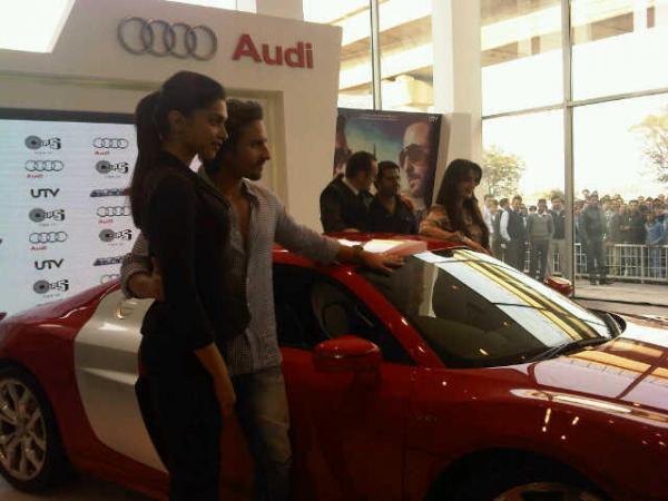 Saif And Deepika Launched New Audi R8 In Delhi