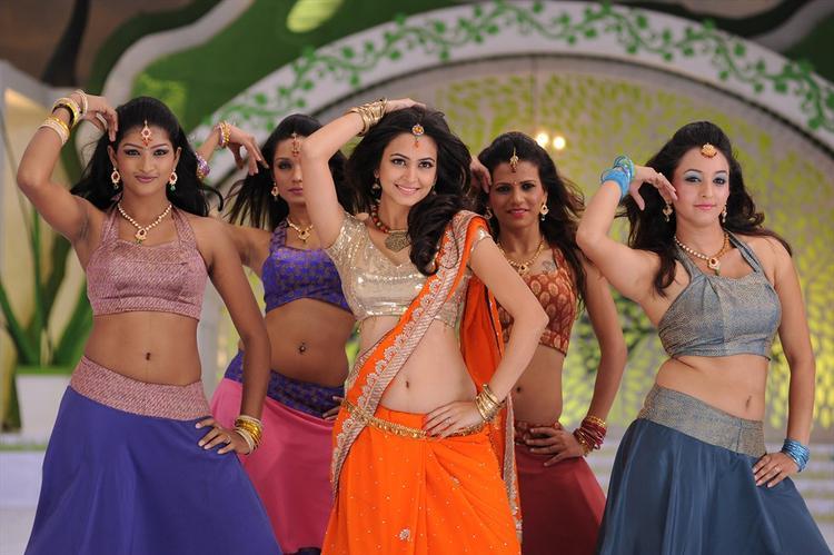 Kriti Sexy Dancing Pose Still From Ongole Gittha Movie