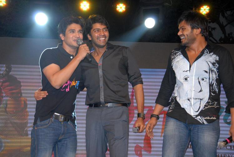 Allari Naresh,Manchu Manoj And Nikhil Cooled At Swamy Ra Ra Audio Release Function