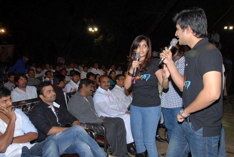 Swati,Nani,Nikhil And Nara Rohit Cooled At Swamy Ra Ra Audio Release Function