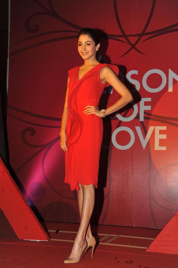 Anushka During The Launch Of Season Of Love Range By Gitanjali Jewels