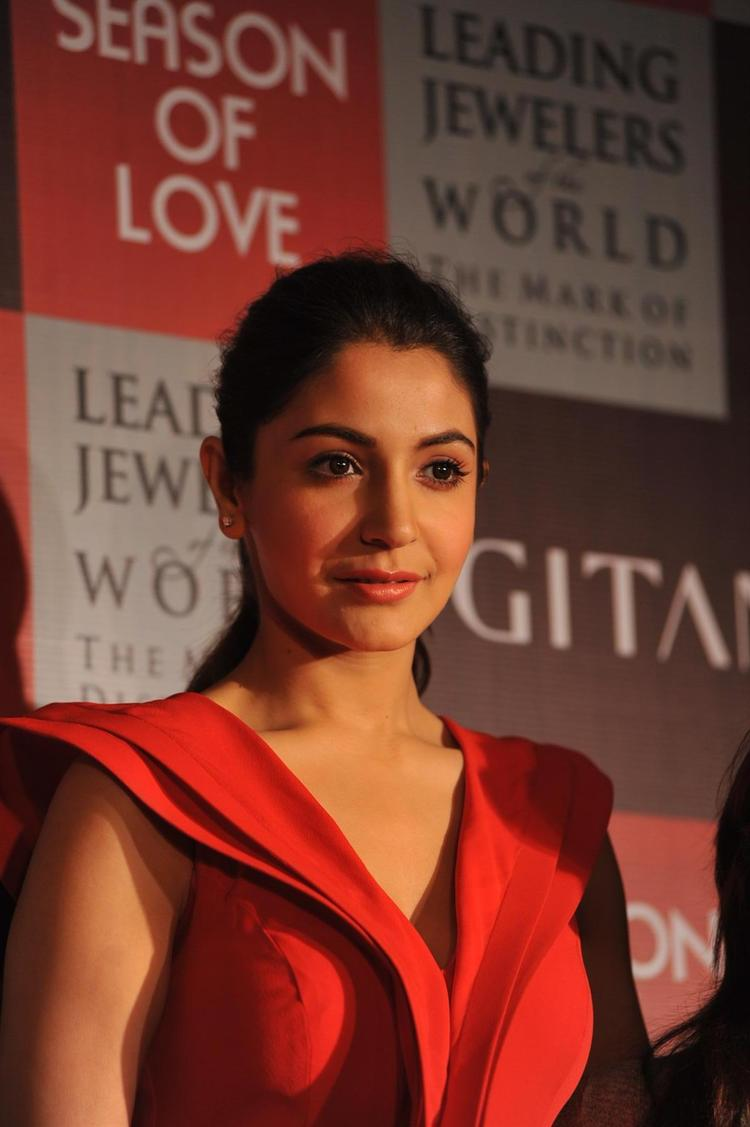 Anushka Sharma At The Launch Of Season Of Love Range By Gitanjali Jewels