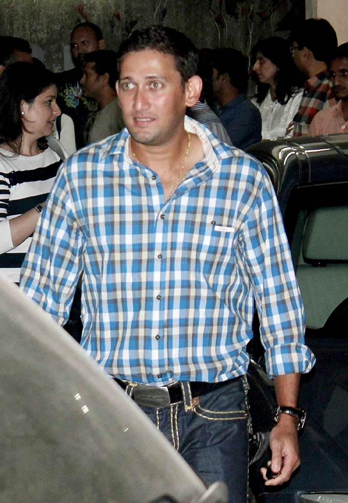 Ajit Agarkar Dashing Look Photo Clicked During Arrival At An Event