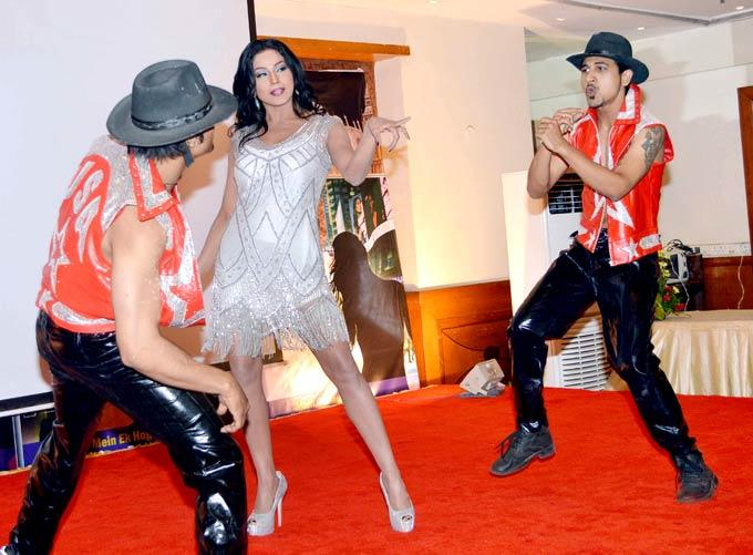 Veena Performs At A Promotional Event Of Movie The City That Never Sleeps