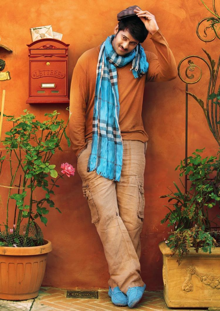 Prabhas Smart Looking Photo From Telugu Movie Mirchi