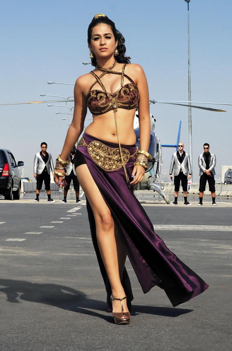 Shubra Hot And Bold Look Photo From Telugu Movie Rey