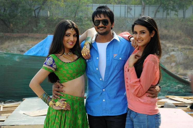 Priyadarshini,Sairam And Jasmine Sexy Cosy Pose At Dilnnodu Movie Press Meet