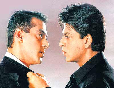 Shahrukh Khan And Salman Khan Nice Still