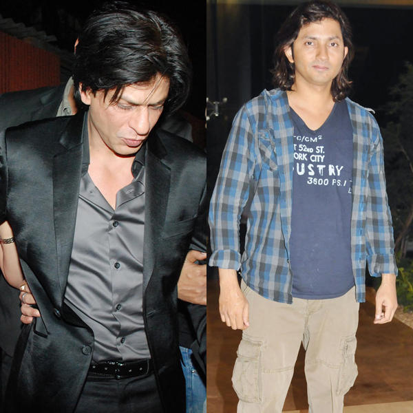 Shahrukh Khan And Shirish Kunder Walking Still