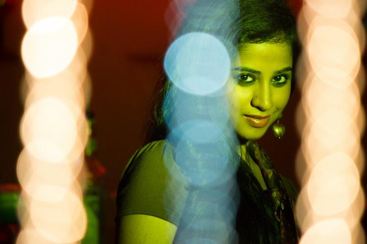 Swathi Deekshith Stunning Face Look Still