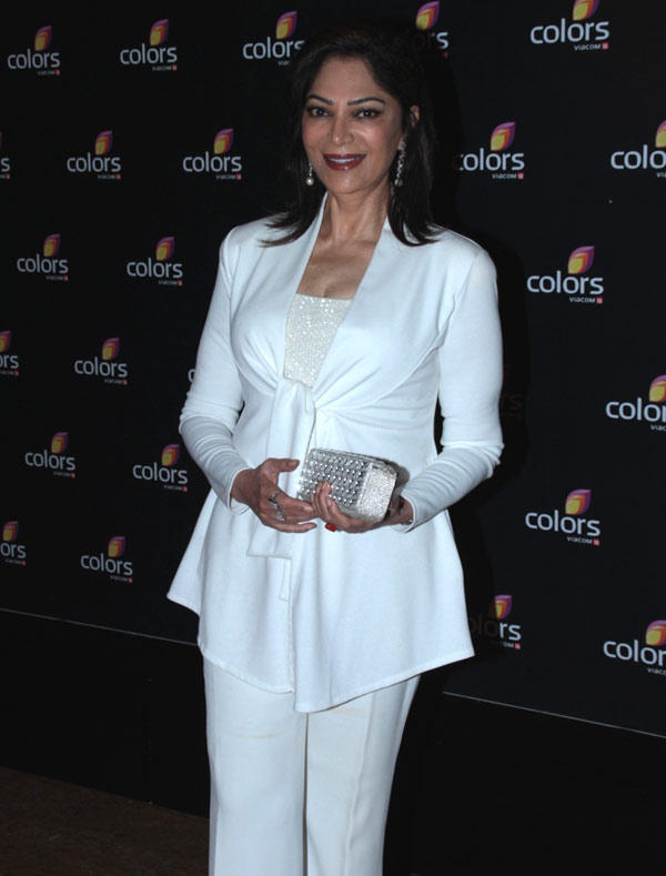 Simi Garewal Glamour Look During The Colors 4th Year Celebration Bash