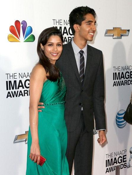 Freida Pinto And Dev Patel Attend The 44th NAACP Image Awards