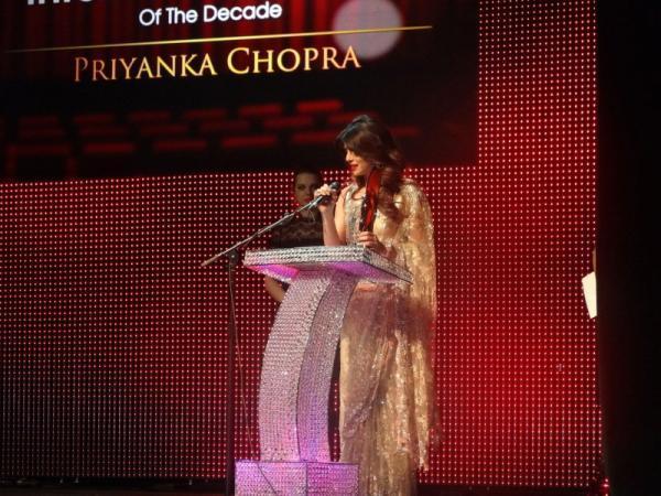 Priyanka Chopra Speaking Still At Anokhi 10th Anniversary Event