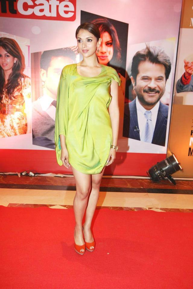 Aditi Rao Spotted In Gaurav Gupta Outfit At The Hindustan Times Style Award 2013