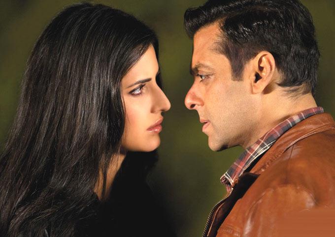 Salman Khan And Katrina Kaif Nice Photo Still