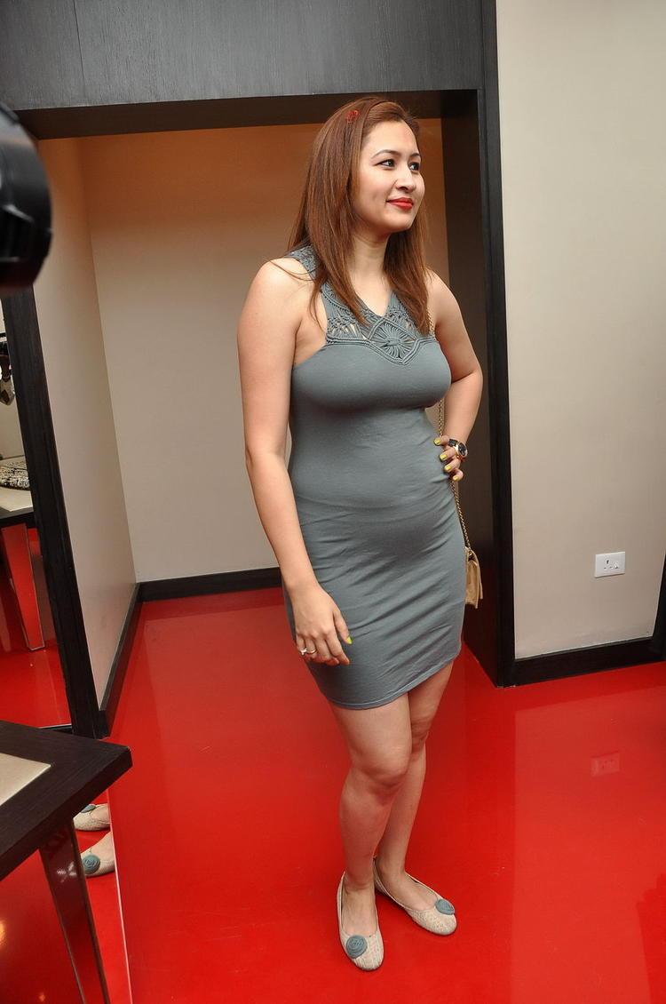 Jwala Gutta Hot Photo Still In Mini Dress