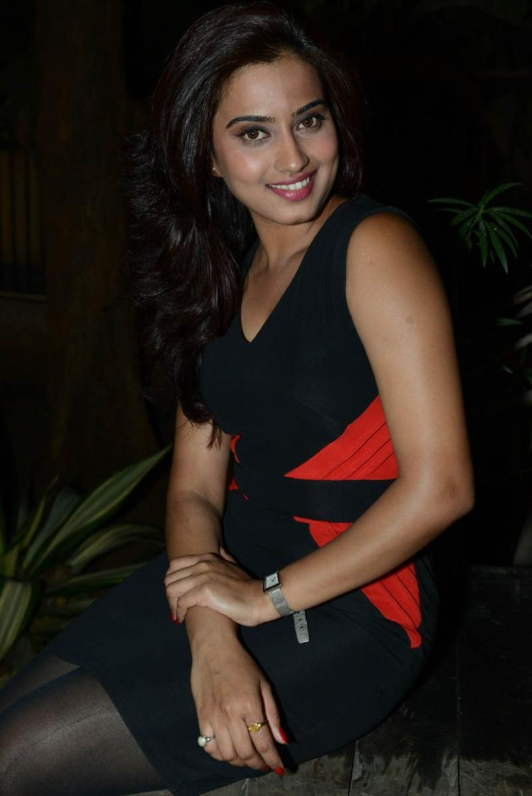 Dimple Glamorous Look Still At Romance Movie Teaser Launch