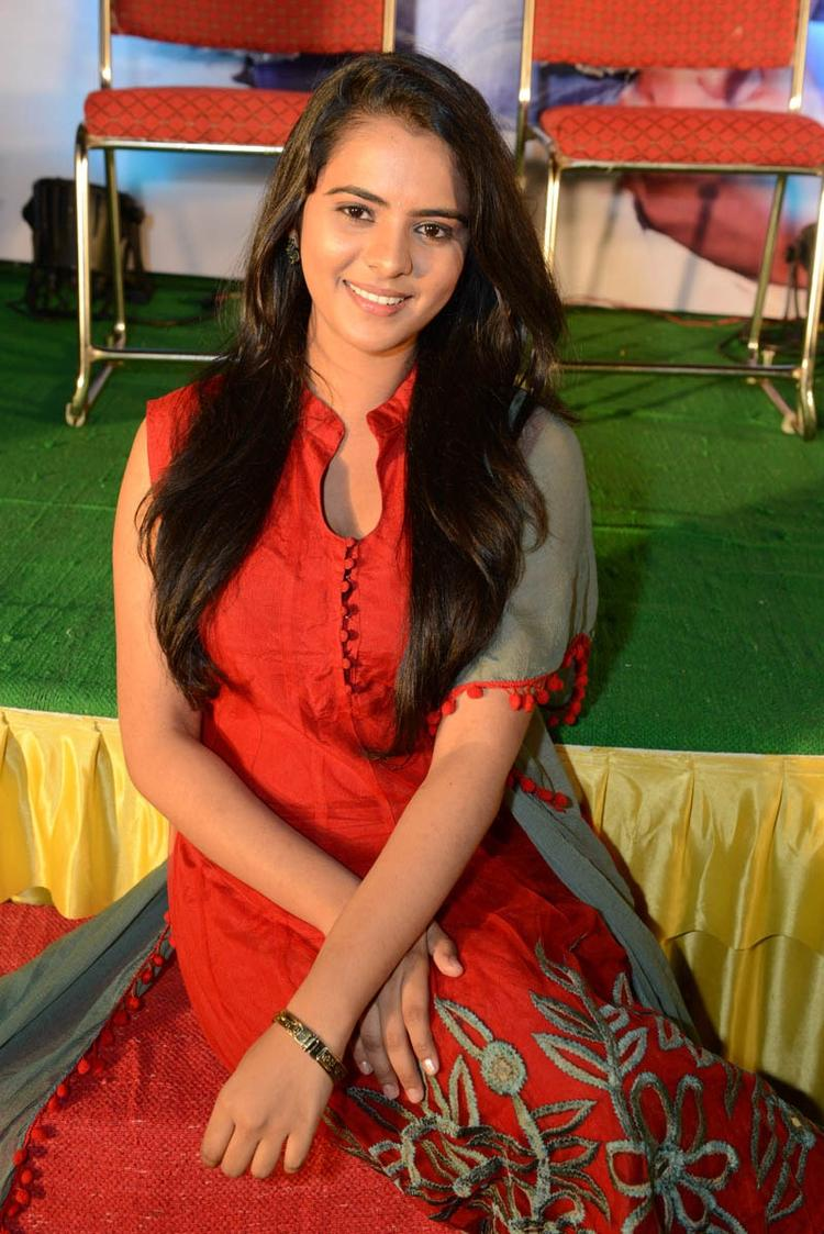 Manasa Sizzling And Attractive Photo Still At Romance Movie Teaser Launch