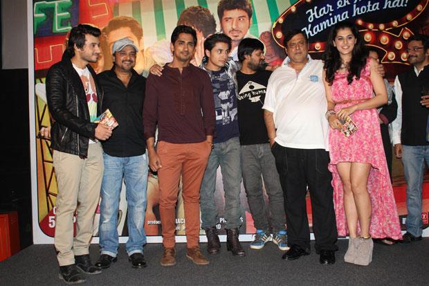 Divyendu,Siddharth,Ali,Wajid,David And Taapsee Graced At Chashme Buddoor Audio Launch Event
