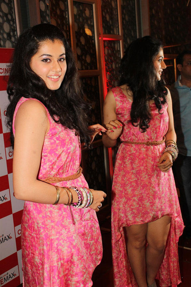 Taapsee Pannu Dazzling Look Still At Chashme Buddoor Audio Launch Event