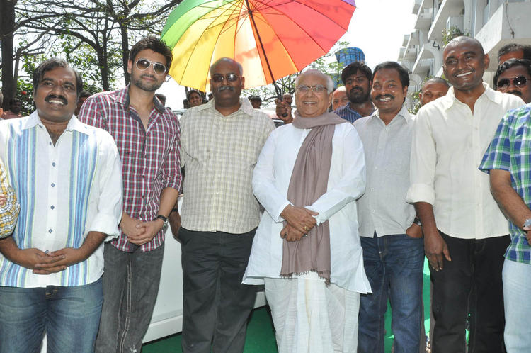 ANR,M. M. Keeravaani And Sumanth Graced At Emo Gurram Egara Vachu Movie Launch Event