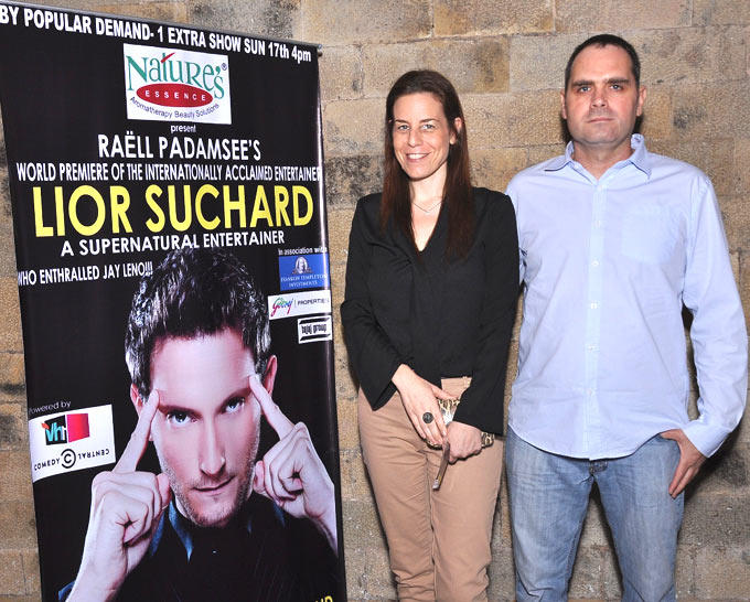 Orna Sagiv Spotted At Lior Suchard Mind Read Show