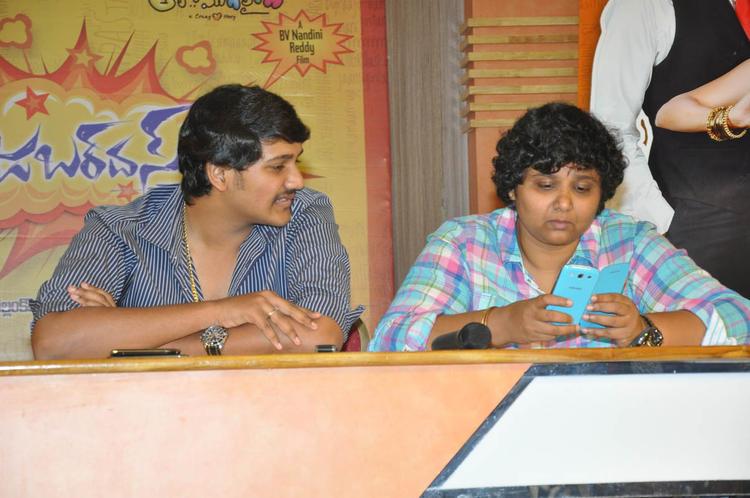 Nandini Reddy Make An Appearance At Jabardasth Press Meet